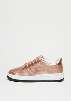 NIKE Basketballschuh Air Force 1 SE (GS) metallic red bronze metallic red  bronze a5bcfcbc1a
