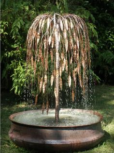The Weeping Willow Copper Water Feature Comes Complete With A Solid Copper  Pond That Is Also Hand Made In The UK