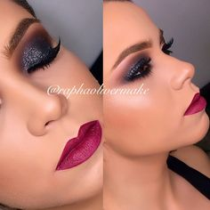 Love the color on the lips