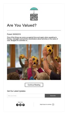 Are You Valued?