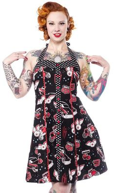 Peggy Kustom Kutie Hot Rod Dress by Sourpuss