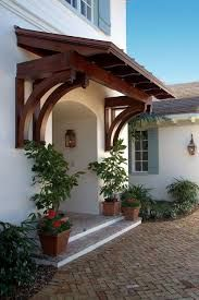 Image result for wooden door awning