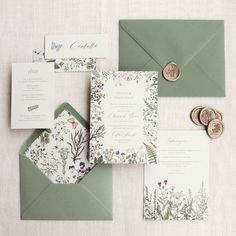 Dobby, Wedding Stationery, Wild Flowers, Palette, Invitations, Pictures, Photos, Wildflowers, Pallets