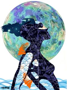 Pisces (zodiac series 1) Art Print