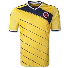2014 COLOMBIA Soccer Team WORLD CUP YELLOW jersey 25e47fe9f