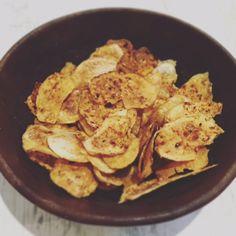 Healthy Homemade Potato Crisps - Basement Bakehouse