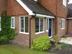Porch extension Porch Extension, Extension Ideas, Driveway Ideas, Kitchen Extensions, Front Porches, Porch Ideas, Living Spaces, Garage Doors, Decorating Ideas