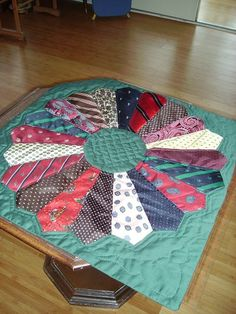 quilts made from men's ties - Google Search More