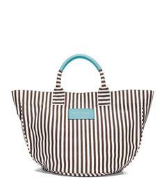 summer beach tote bags - stripe canvas beach tote | henri bendel http://morganetoile.com