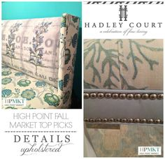 Classic Styling at High Point Market Fall | Hadley Court #HPMKT Top Picks #Upholstered #Details #Traditional #Style #InteriorDesign #Trends