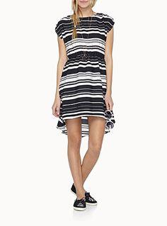 La robe imprimée asymétrique   Simons