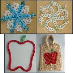 Easy Beaded Crochet Technique - Free Tutorial: Beaded Crochet Project Ideas