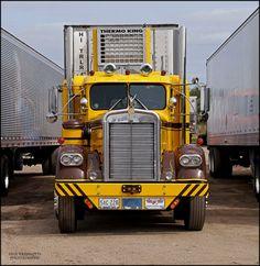 1960 Kenworth Truck Model CJ 925 Bill Schoenike Shawano, WI 2015 Southern Wisconsin Chapter ATHS Show held at Wisconsin Kenworth in Windsor, WI Big Rig Trucks, Rv Truck, Dually Trucks, Heavy Duty Trucks, Peterbilt Trucks, Heavy Truck, Semi Trucks, Cool Trucks, Diesel Trucks