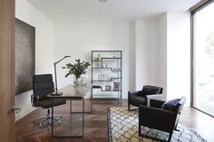Macauley Road Townhouses, Clapham : Modern study/office by Squire and Partners