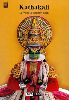 This 400 year old world renowned classical dance form of Kerala combines faces of Ballet Opera, Masque and Pantomime. Kathakali explicates events arid stories form the India epics and mythology with an unparalleled array of color music drama and dance. Ref: http://www.exoticindiaart.com/product/audiovideo/kathakali-kalyanasougandhikam-dvd-ICX087/