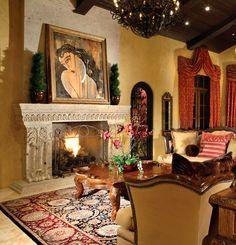 Cantera Natural Stone Piñon Fireplaces