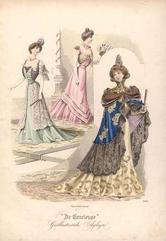 de Gracieuse fashions 1898
