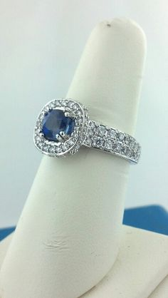 Plat diamond and sapphire