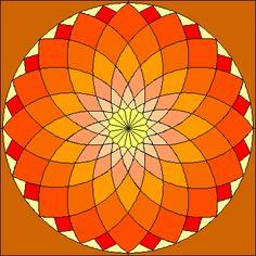 dahlia quilt pattern - Google Search