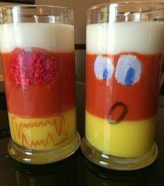 """""""Candy Corn"""" Candle in Production"""