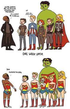 Avengers problems