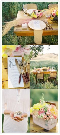 Soft Colors for Outdoor Party