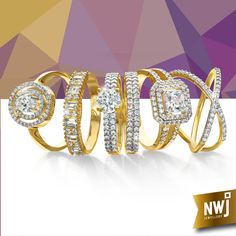 Life's most memorable moments come full circle. Mark them with one of our signature rings at NWJ.