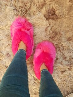 Alpaca Slippers, Pink Slippers, Alpacas, Bridal Chuda, Soft Leather, Corner, Indoor, Outdoors, Fur