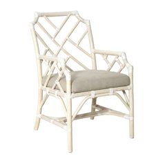 Found it at Wayfair - New Classics Palm Beach Dining Chair with Cushion Patio Rocking Chairs, Outdoor Dining Chairs, Patio Seating, Patio Chairs, Dining Chair Set, Dining Area, Kitchen Dining, Dining Table, Funky Furniture