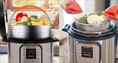 The 9 Best Steamer Baskets for Instant Pot Pressure Cookers in 2020 Pressure Cooker Reviews, Instant Pot Pressure Cooker, Steamer Baskets, Best Steamer, Cookers, Rice Cooker, Healthy, Recipes, Food