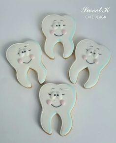 Dentistas muelitas cookies