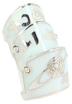 Vivienne Westwood Enamel Armour Ring