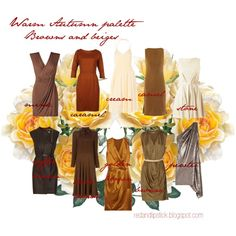 Warm Autumn palette 3 by Caroline Grant. Warm Autumn palette in terms of spices: cinnamon, nutmeg, curry and others. Deep Autumn, Warm Autumn, Autumnal, Seasonal Color Analysis, Fall Color Palette, Fall Capsule Wardrobe, Color Me Beautiful, Warm Spring, Fashion Colours