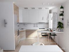 Дизайн кухни совмещенной с гостиной: фото 10 современных интерьеров 2015 года