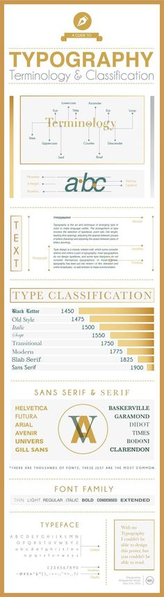 No matter what your stage in understanding graphic design, having a grip of solid typography principles can be a helpful asset in the pursuit of quality design and marketing. This the case, here's a useful infographic that breaks down the basics: Design Web, Design Fonte, Graphic Design Tips, Graphic Design Typography, Tool Design, Graphic Design Inspiration, Design Basics, Graphic Designers, Layout Design