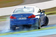 BMW F10 M5 2012 drifting 5 Series
