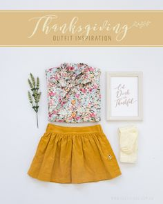 Cute thanksgiving outfit!