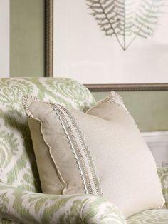 pretty custom pillow (Francie Hargrove)