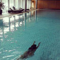 🐬 #spaday #långvik #swimming #sunday #relaxing #langvikhotel http://www.langvik.fi/