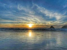 """""""But there's more to this life than living and dying More than just trying to make it through the day; More to this life more than these eyes alone can see And there's more than this life alone can be"""" #SaturdaysWarrior #MoreToThisLife #lyrics #music #LDS #Mormon #sunset #beach #Oregon"""