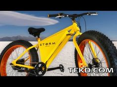 There have been several ideas and prototypes for e-bikes in recent years and now, it looks like there is a Storm coming later this year. Storm is an e-bike with big backing that could make it a wid...
