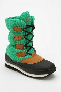 Rubber Duck Corduroy Trek Boot #urbanoutfitters