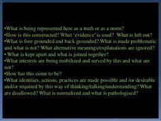 Foucauldian Discourse Analysis  Foucault