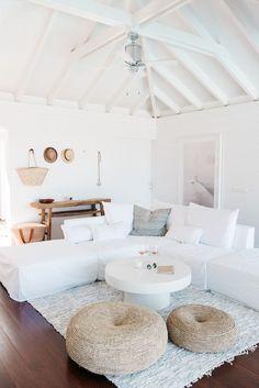 Dream escape: an ethereal beach house on St Barths | my scandinavian home | Bloglovin'