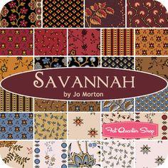 Savannah Yardage Jo Morton for Andover Fabrics