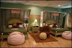 Decorating theme bedrooms - Maries Manor: Sports Bedroom decorating ideas - boxing - skateboarding - martial arts - football - baseball theme bedrooms