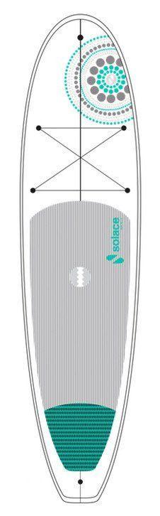 Solace SUP Boards 10.6 NOSARA Innegra MINIMAL Yoga Standup Paddleboard