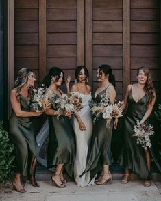 Boho Wedding, Dream Wedding, Wedding Day, Field Wedding, Wedding Simple, Party Wedding, Silk Bridesmaid Dresses, Wedding Dresses, Country Wedding Bridesmaid Dresses
