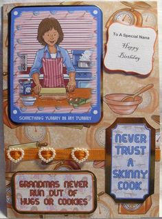 Made for MIL using Crafters Companion CD 'Hobbies and Occupations' (Female)
