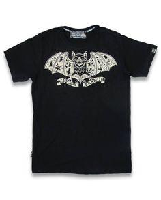 Liquor Brand Herren TATBAT T-Shirts.Tattoo,Biker,Oldschool,Custom Clothing Style
